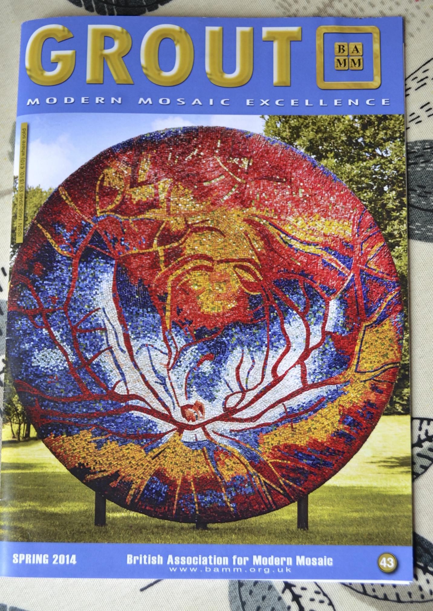 British Association for Modern Mosaics  Grout Magazine