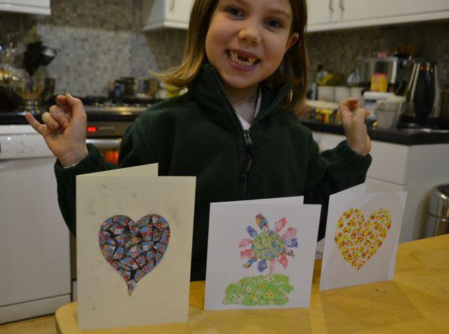 paper mosaic children tutorial