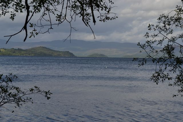 Magical light at Loch Lomond