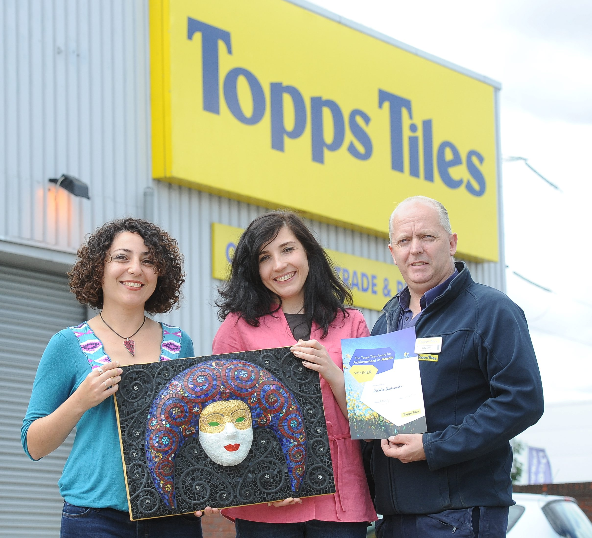 Topps Tiles Award Mosaic Art London