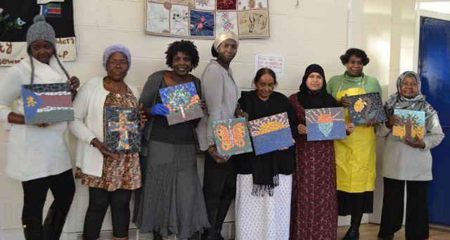 community mosaic art workshop London