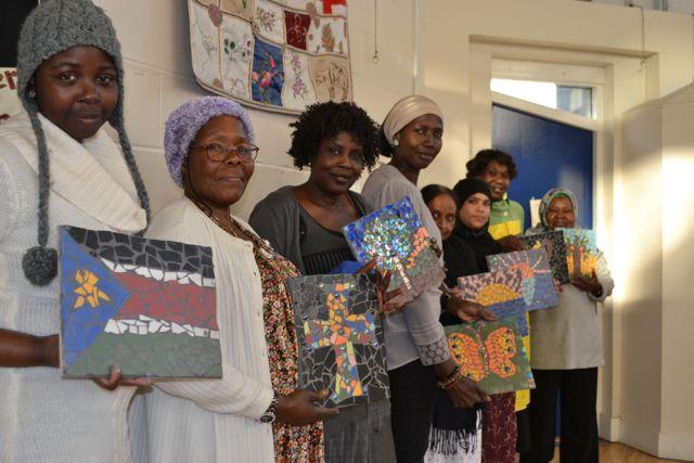 community mosaic art