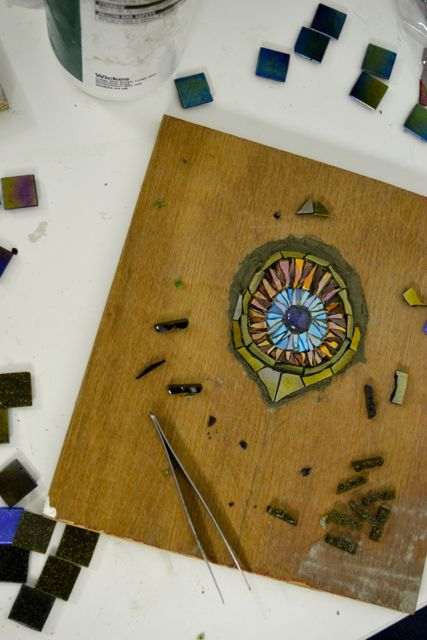 Mosaic class workshop London