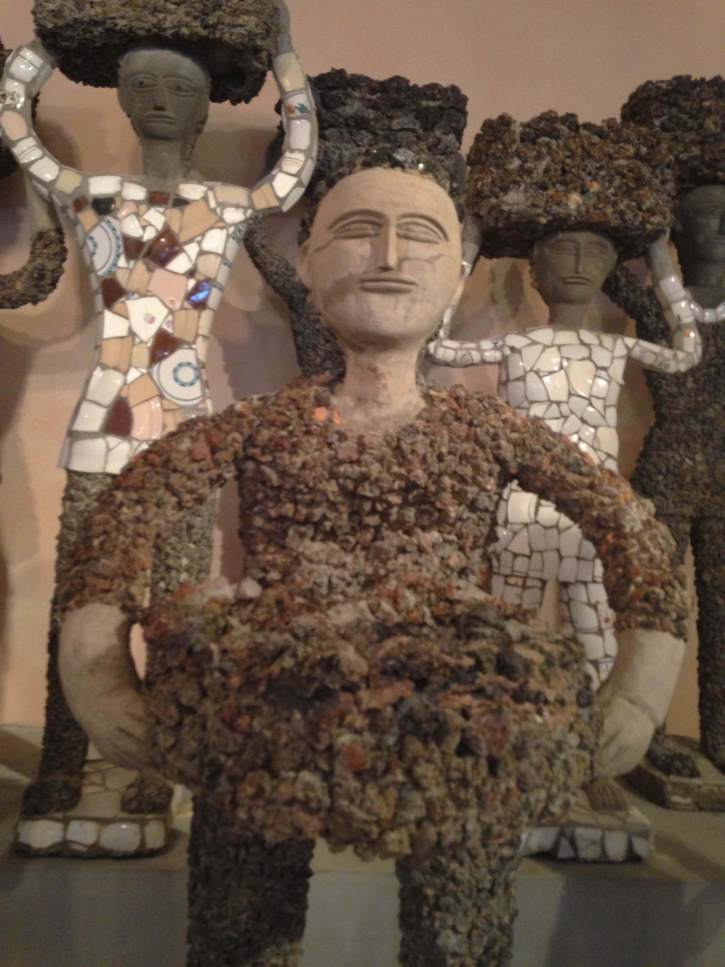 Nek Chand mosaics