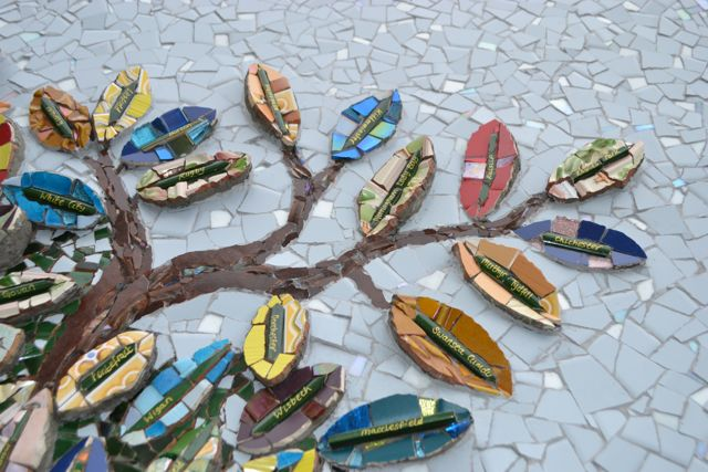 Topps Tiles Mosaic Tree Concetta Perot