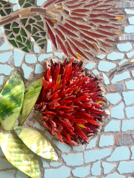 Glittering Shards Mosaic classes, London