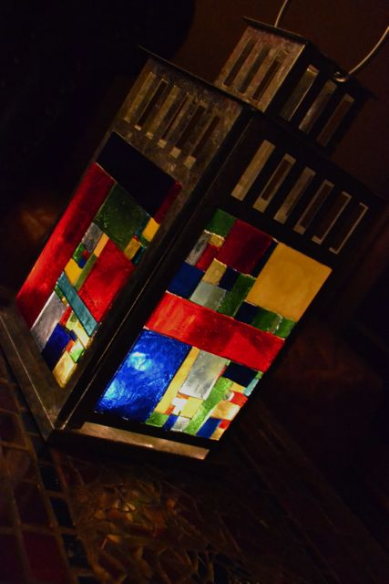 Mosaic Lantern Concetta Perot