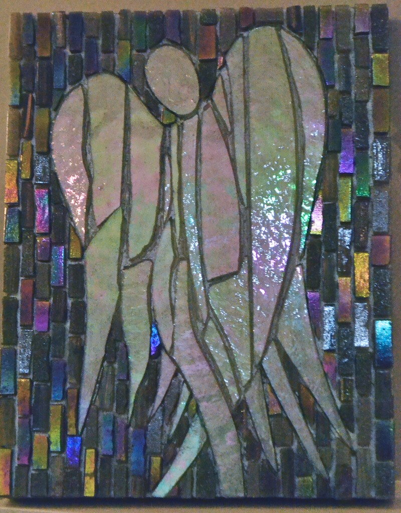Mosaic Angel Concetta Perot