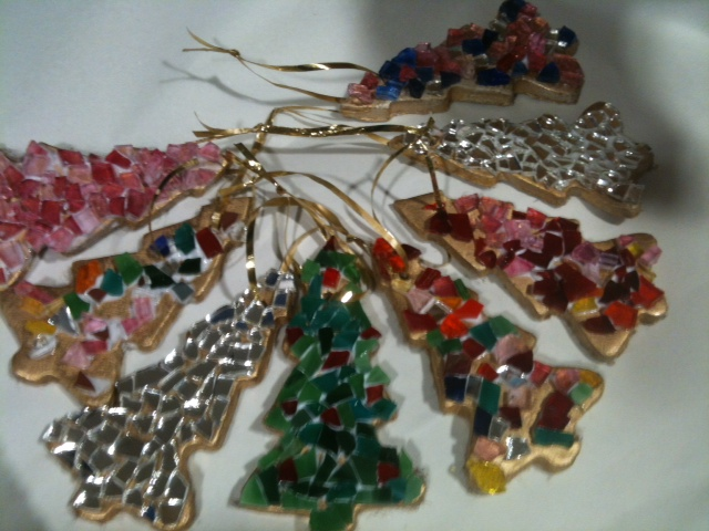 mosaic christmas decorations Concetta Perot