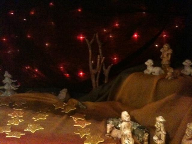 Mary's walk nativity