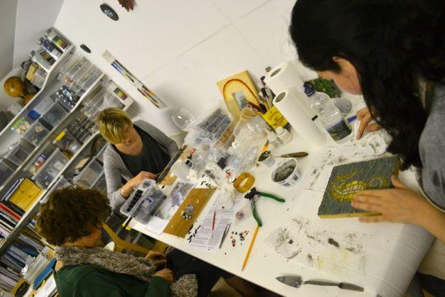 Mosaic workshops classes London