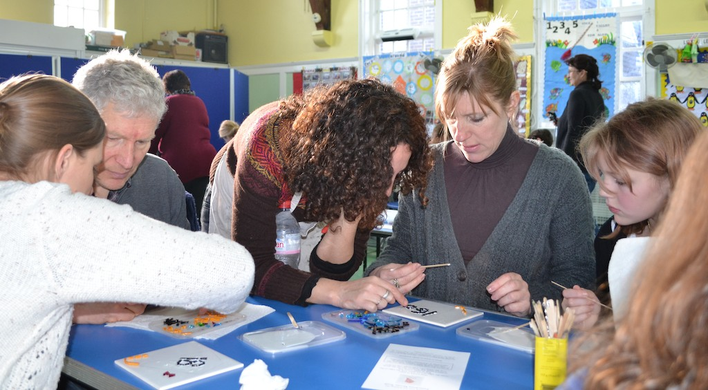 Kite Mosaic Workshop Concetta Perot