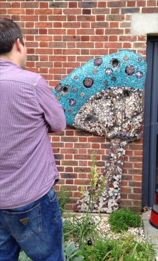 Mosaics, Garden, Concetta Perot, London