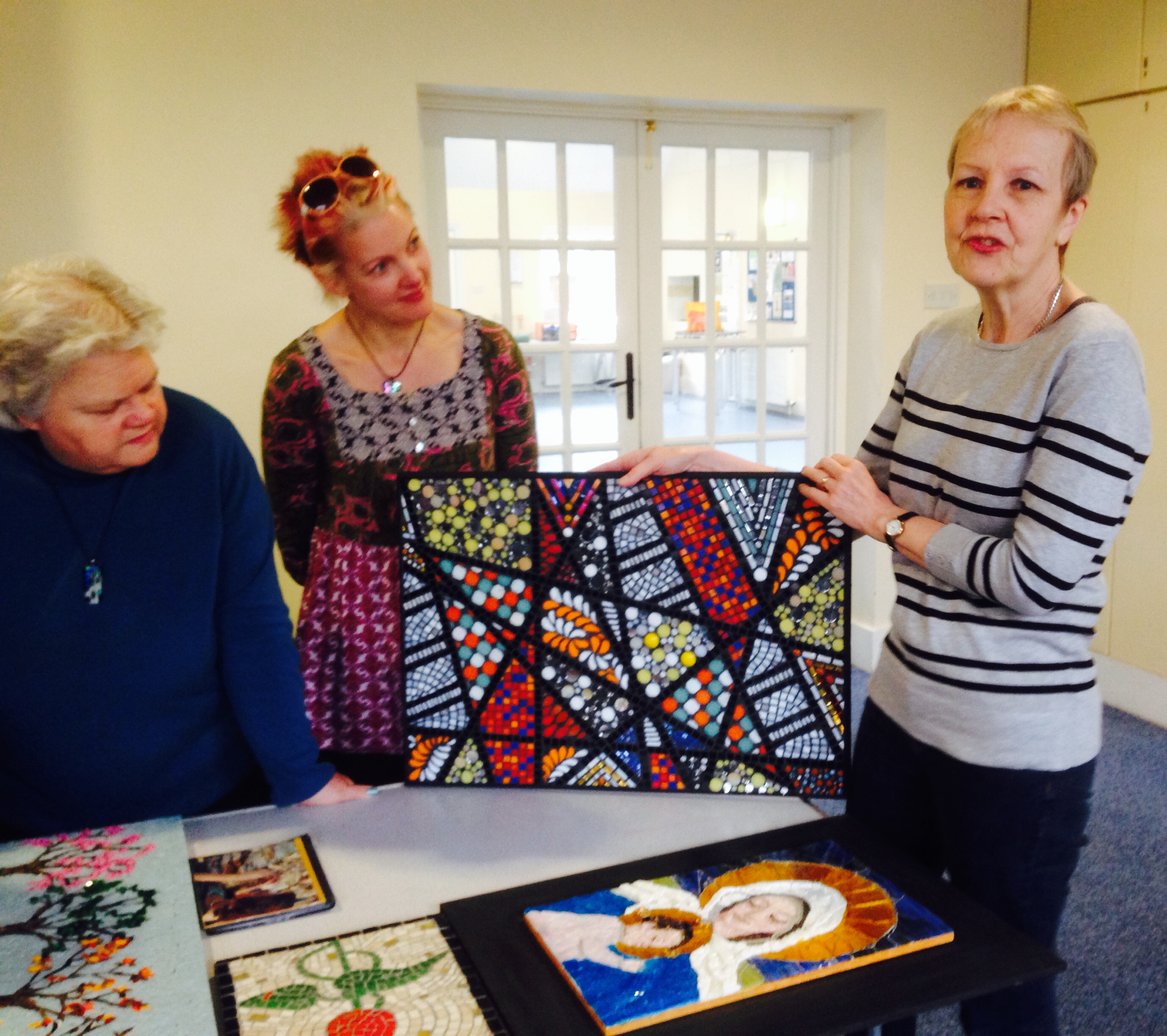 Mosaics, Concetta Perot, London, learn mosaics, mosaic classes, workshops, mindfulness